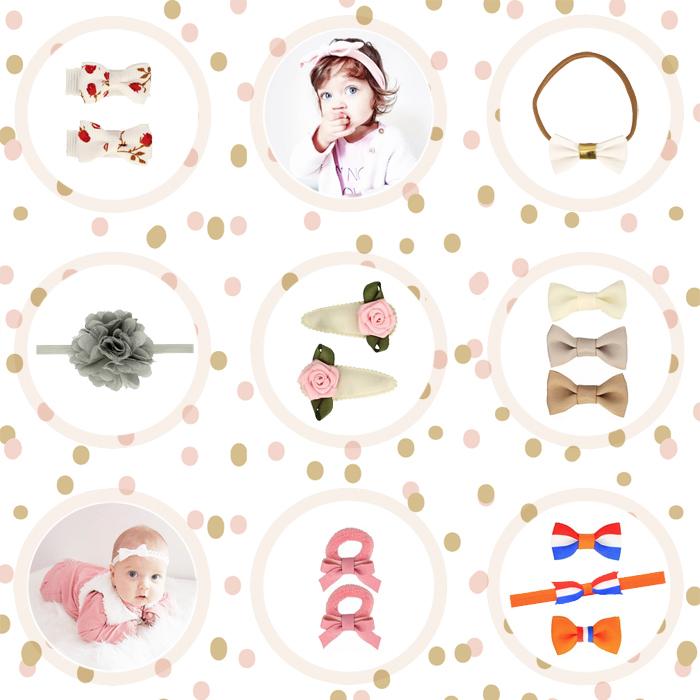 baby haarspeldjes, baby haarknipjes, haaraccessoires, baby meisjes, baby haar speldjes, baby knipjes