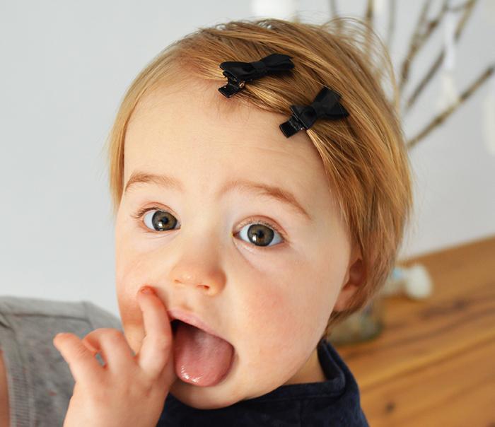 baby haarspeldjes, haarknipjes, babyknipje zwart, babyhaar speldjes