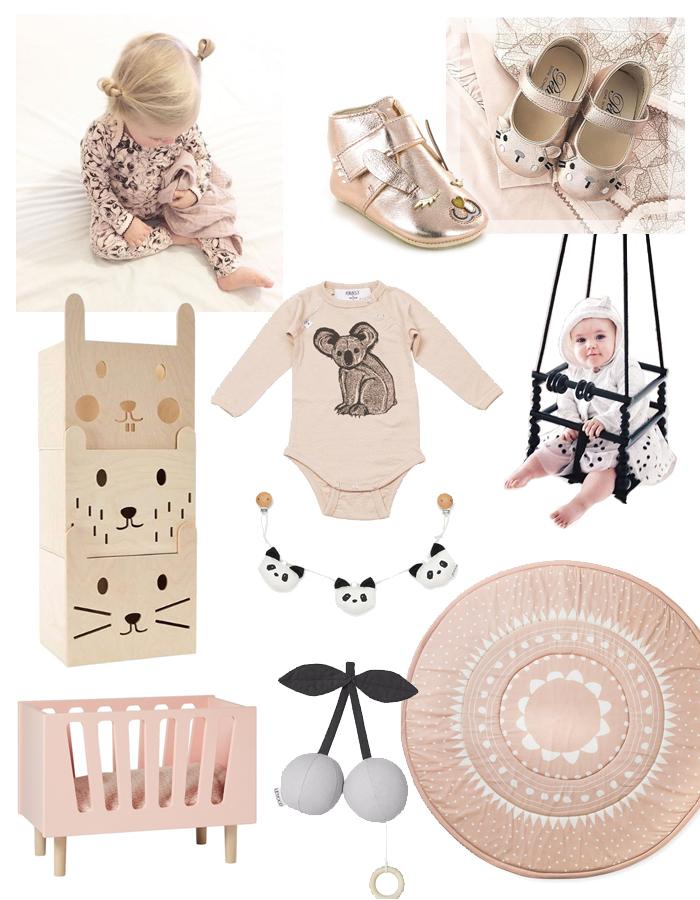 baby shop, de gele flamingo, babylabel, hippe baby spullen