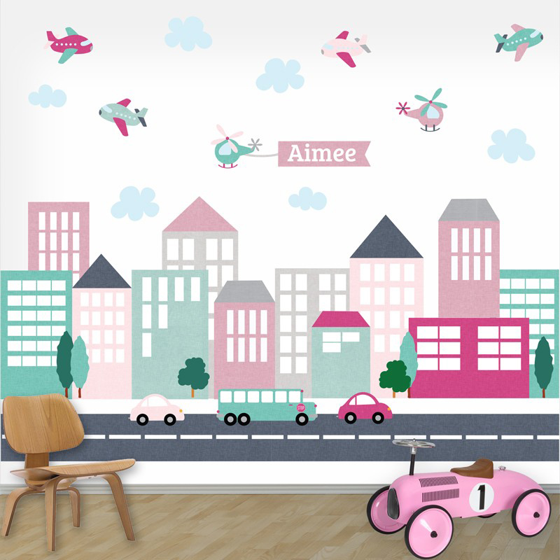 muurstickers voor babykamer