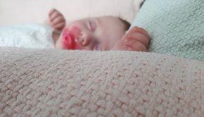 baby ziek, baby eerste keer ziek