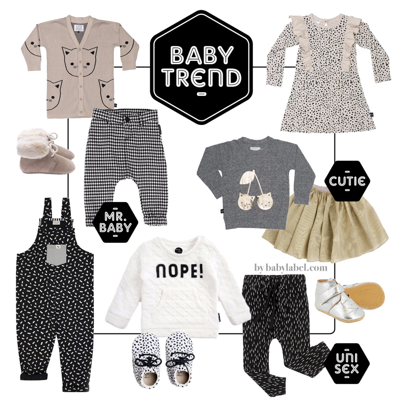 hippe babykleding, babykleding trends, sproet en sprout, babylabel. babymode, huxbaby