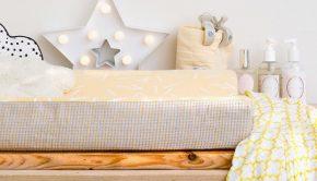 Lodger, babykamer inspiratie lodger, zwart wit geel babykamer styling