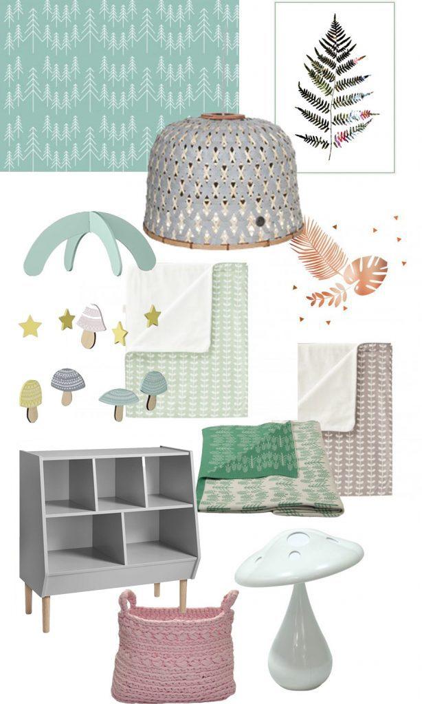 babykamer inspiratie, babylabel, herfst, groen