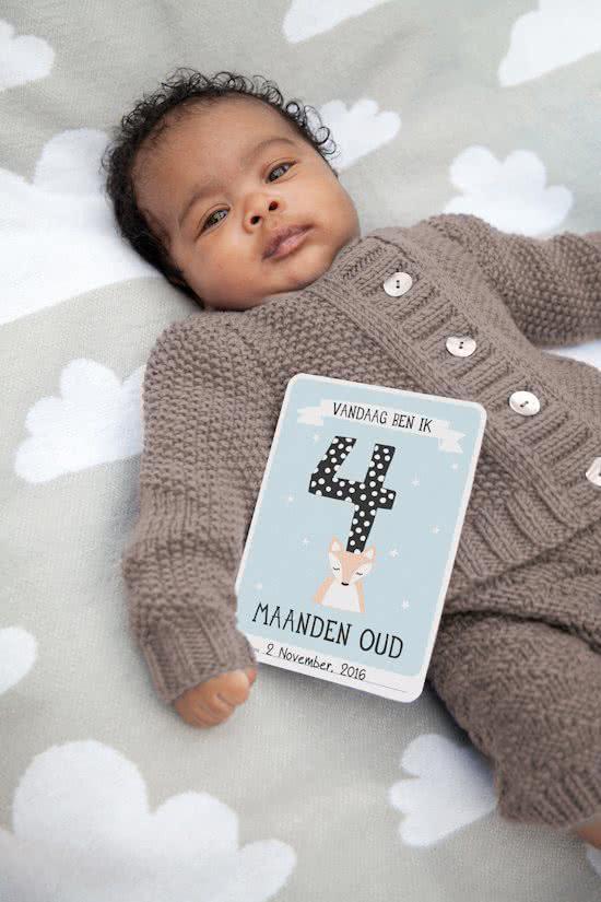 mijlpaalkaarten, babykaarten