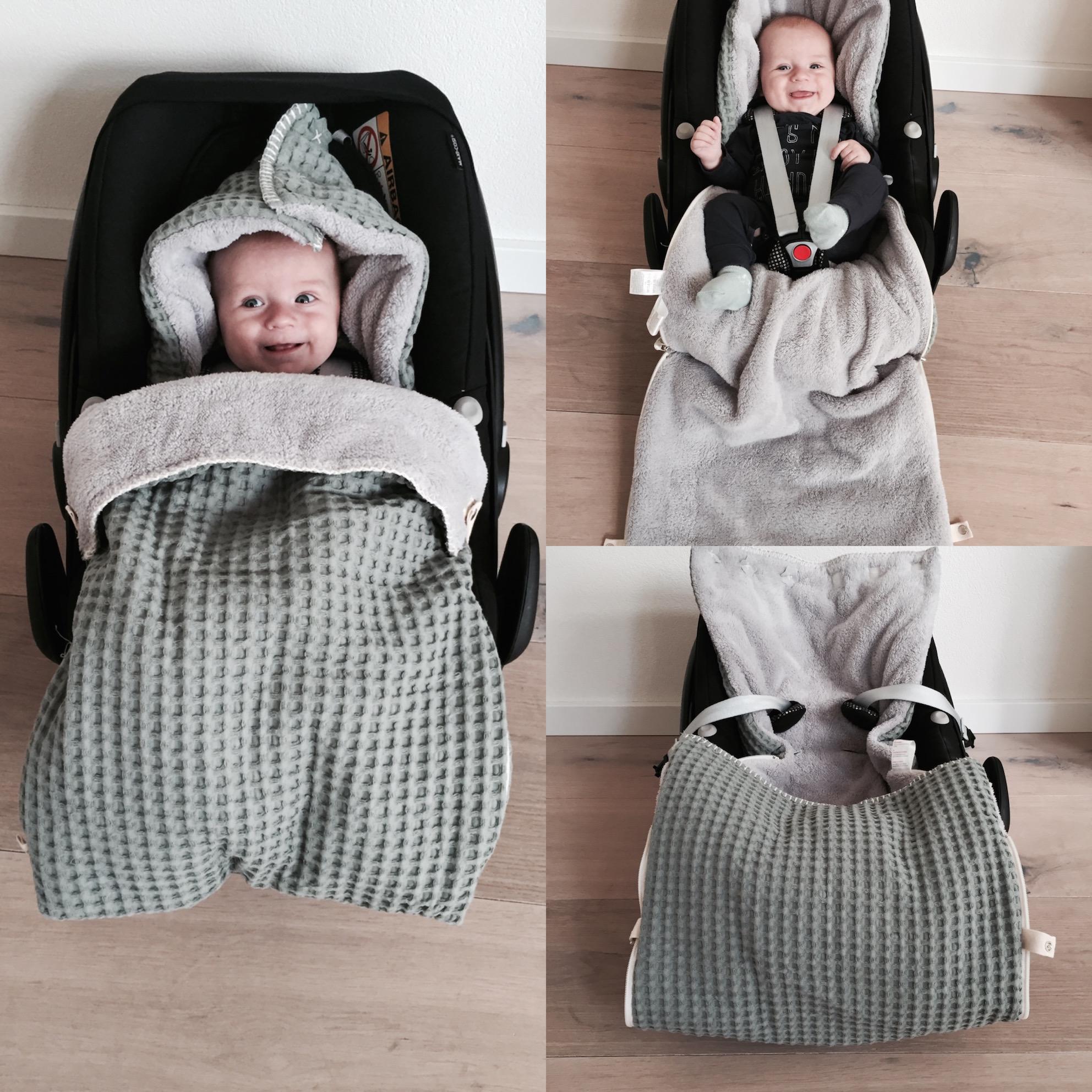 baby max warm en cosy in de koeka voetenzak babylabel. Black Bedroom Furniture Sets. Home Design Ideas