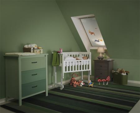 Gordijn Babykamer Babykamers : Disney velux rolgordijn verduisterende gordijnen babykamer babylabel