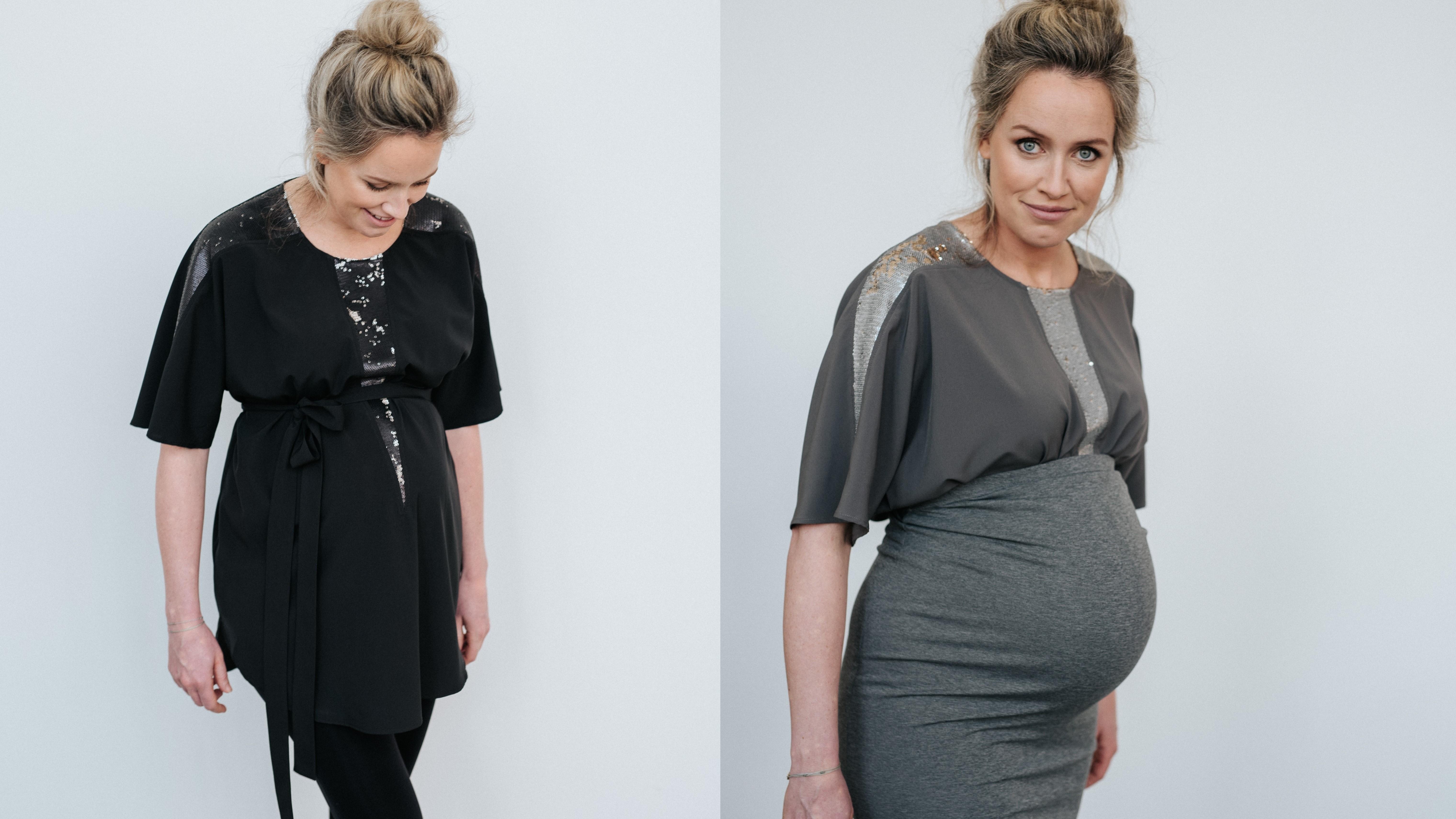 tissu blanc, zwangerschapskleding, hippe zwangerschapsmode