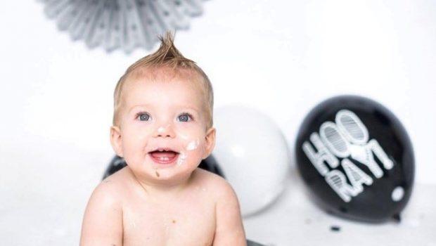 eerste verjaardag baby, baby 1 jaar