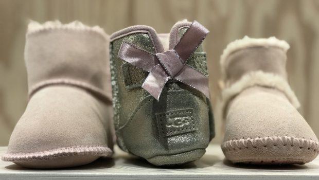 exclusieve babykleding, kinder kleding, uggs babyslofjes