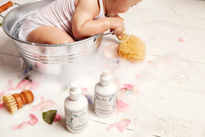 mevrouw schaap, hypoallergene babyverzorging, the gift label