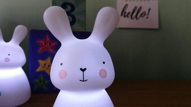 nachtlampje baby, olala lampjes, nachtlampje konijn, nachtlampje baby