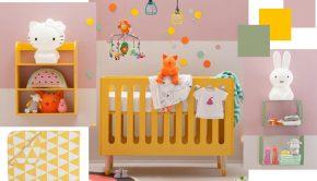 babykamers, kleur op de babykamer