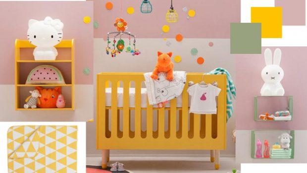 Kleur op de babykamer babykamer trends babylabel