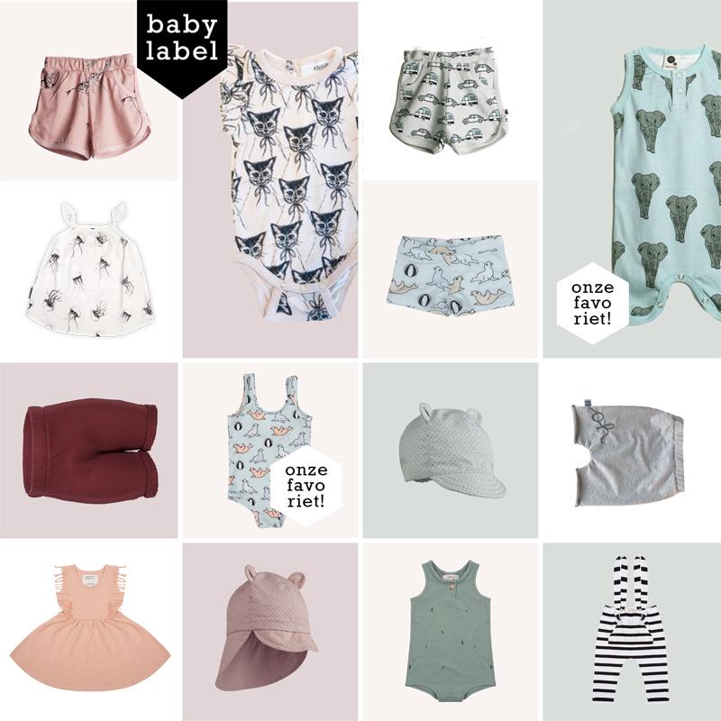 hippe babykleding, babykleding zomer 2018, babylabel