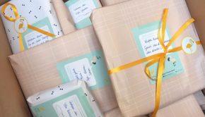 online geboortelijst, de gele flamingo geboortelijst, kraamcadeau, babylabel