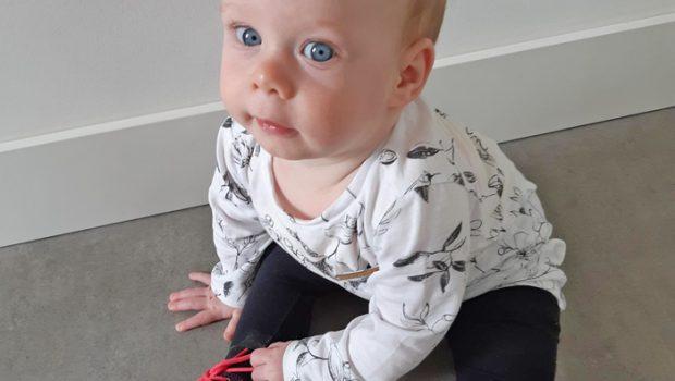 ritme baby, baby 8 maand, babyblog, baby label