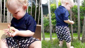UV zwemkleding, UV zwemkleding baby, UV shirt baby