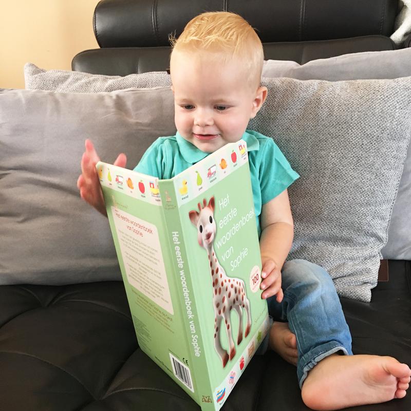 Het eerste woordenboek van Sophie de Giraf, babyboek