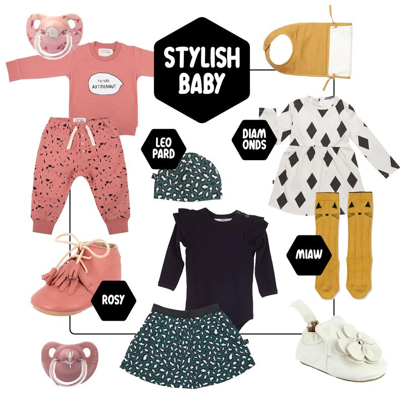 Babylabel kleding girl, baby meisje kleding, babykleertjes winter 2018