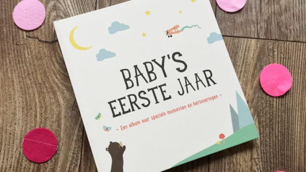 baby's eerste jaar invulboek , milestone babyboek