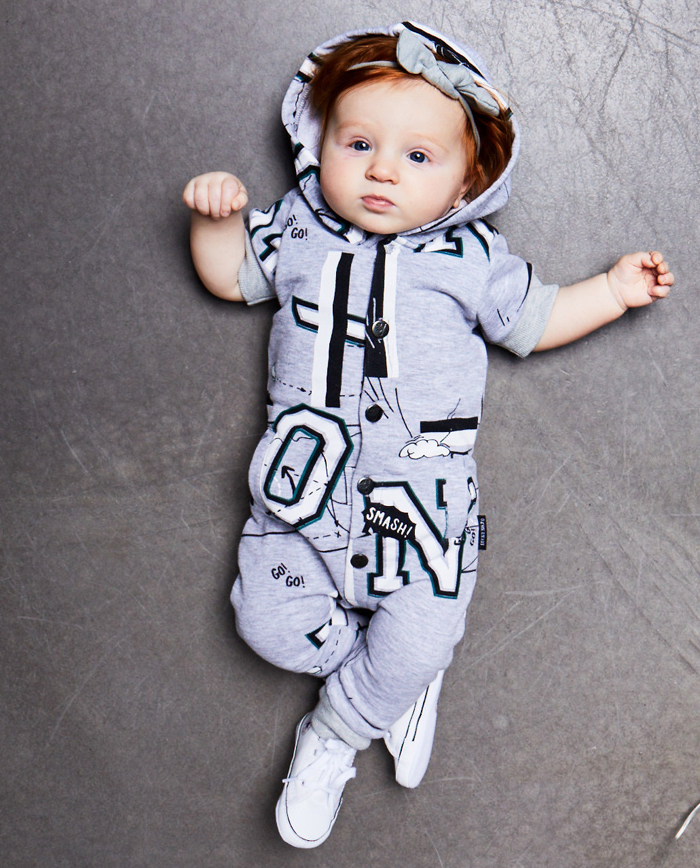 lucky no 7, onesie, babykleding jongen, baby boy