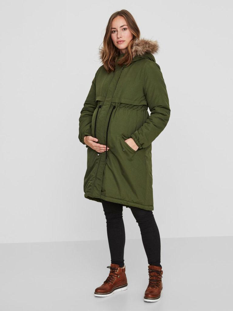 zwangerschapsjassen, hippe zwangerschaps jas, positie jas