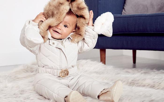 RI baby, river island baby kleding, newborn babykleding, baby winterkleding, sneeuwpak baby