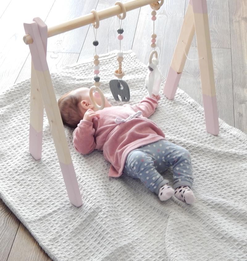 babypakje, babymeisje, roze baby tuniekje