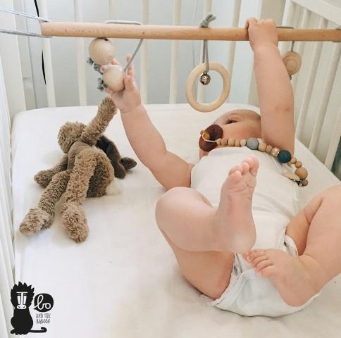boandthebaboon, babytrapeze, houten babygym
