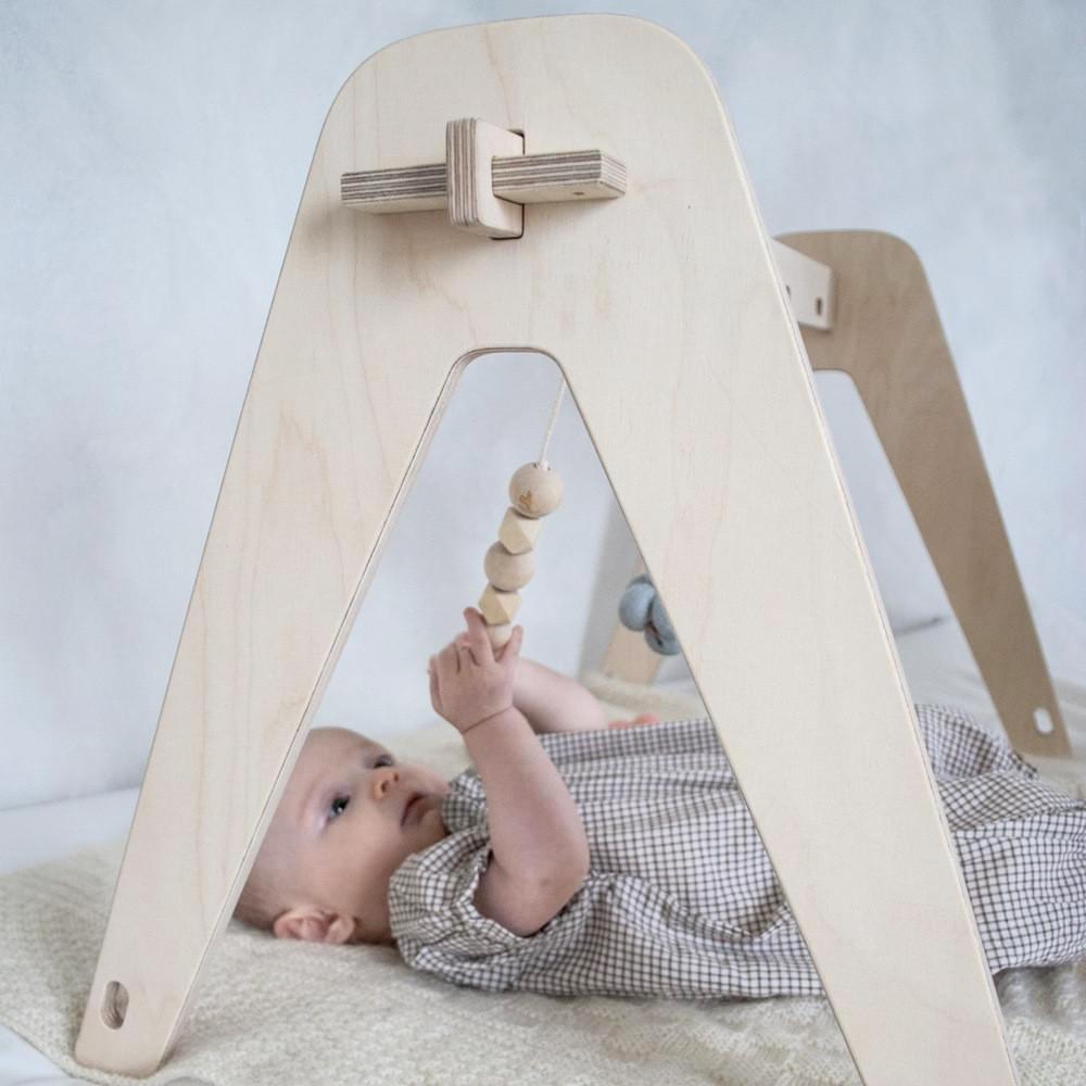 houten babygym, goedkope houten babygym