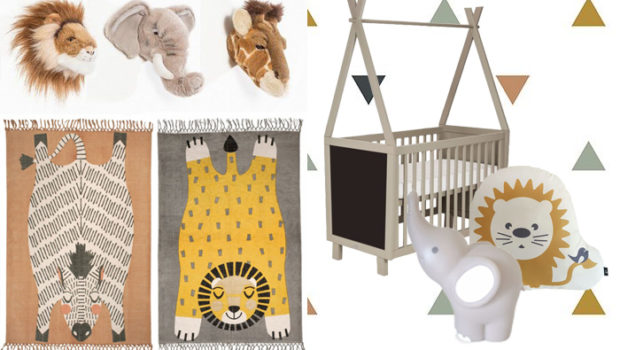 safari babykamer