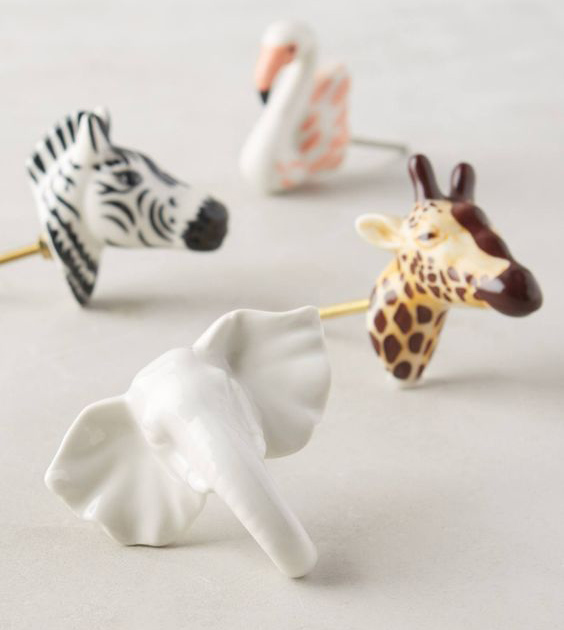 safari babykamer, dierenkamer, babykamer thema, dieren knopjes