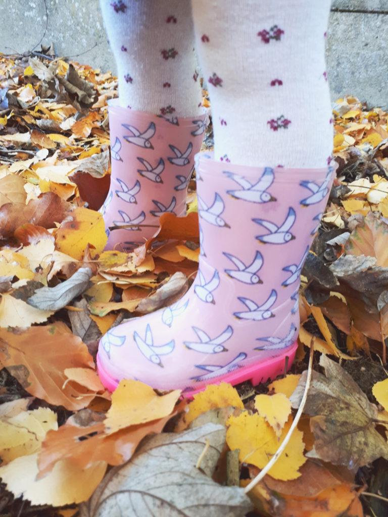 regenlaarsjes-angst, roze regenlaarsjes