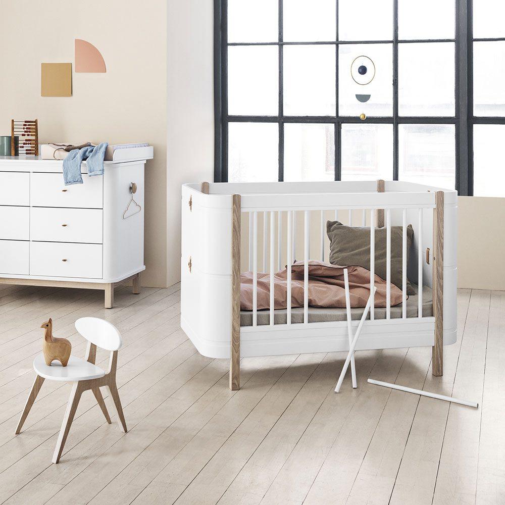 Oliver Furniture Ledikant, babybed, peuterbed, meegroei ledikant