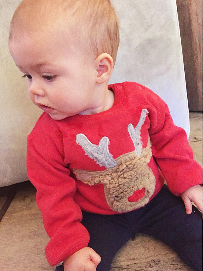 baby kersttrui, kerst trui baby, kerst oufit baby, kerstkleding baby, kerstkleding zeeman
