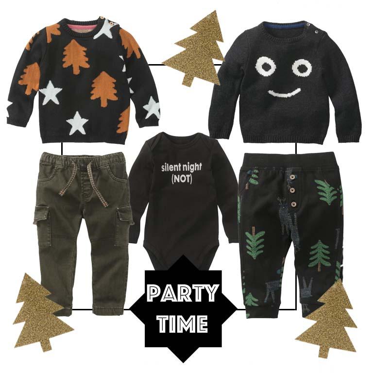 goedkope kerstkleding kind, babykleding kerst, babylabel, babycollectie kerst, foute kerststrui baby
