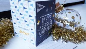 Milestone Keepsake Ornament, kerstbal vol herinneringen, baby kerstbal, milestone kerstbal