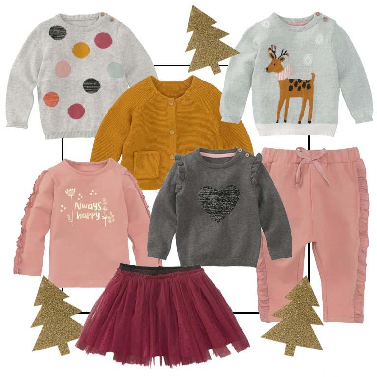 winterkleding babymeisje, kerstkleding baby, hema feestcollectie 2018