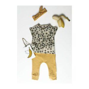 luipaard babykleding, panterprint baby kleding, babyshirt panter print