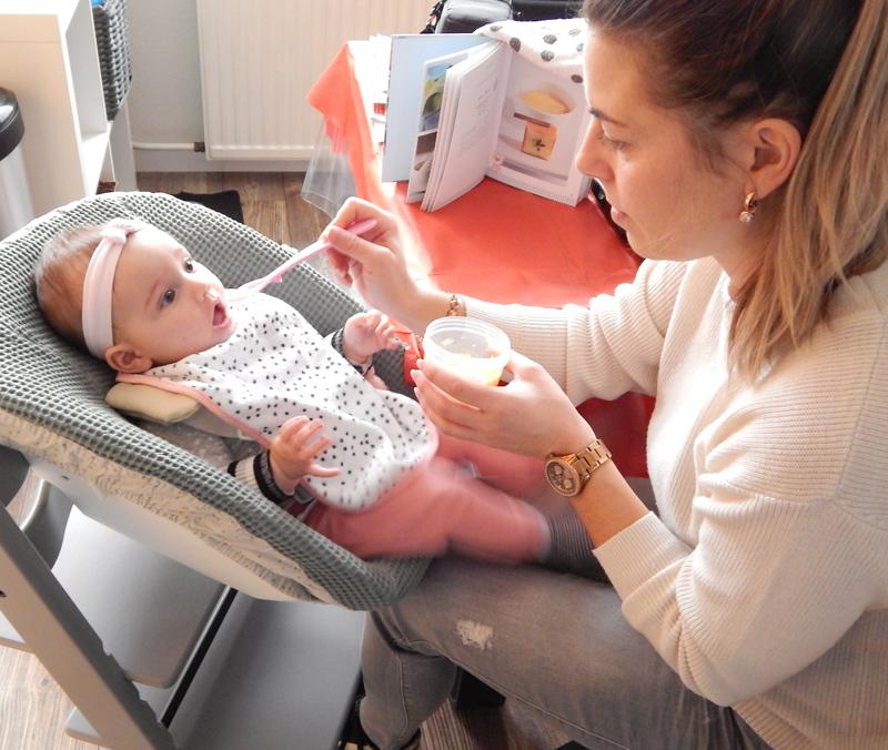 mijn babyrecepten sophie de giraf, babyreceptenboek, eerste babyhapjes, babyhapjes zelf maken