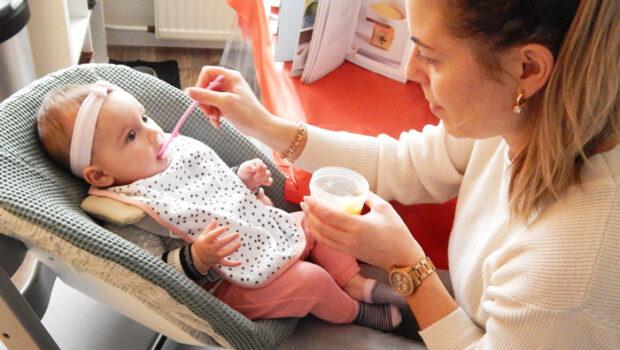 mijn babyrecepten sophie de giraf, babyreceptenboek, eerste babyhapjes, babyhapjes zelf maken, mijn babyreceptenboek met sophie de giraf