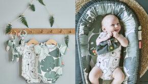 tiny tropics, tropische baby spullen, done by deer