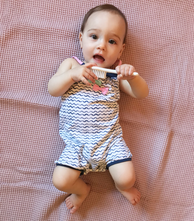 Bampidano, baby jumpsuit, babykleding zomer