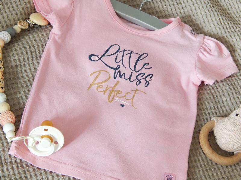bampidano babykleding, roze babyshirtje