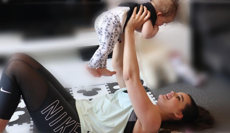 fitmom, sporten met je baby