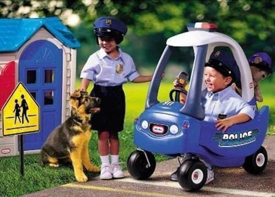 politie loopauto, loopauto