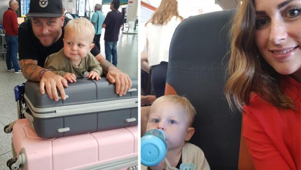 eerste keer vliegen met je baby
