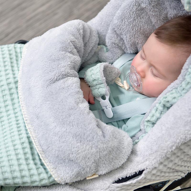 mintgroen baby accessoires, koeka