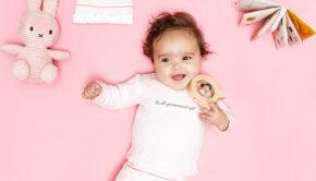 Beebielove, baby meisje, babylabel, babykleertjes, beebielove online kopen